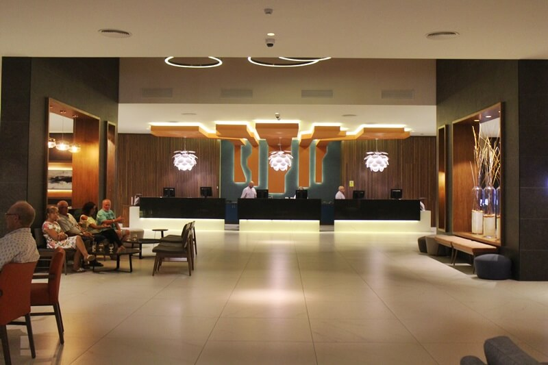 Clubhotel Riu Costa del Sol Cluburlaub Torremolinos, Andalusien Spanien Hotelreview Empfang