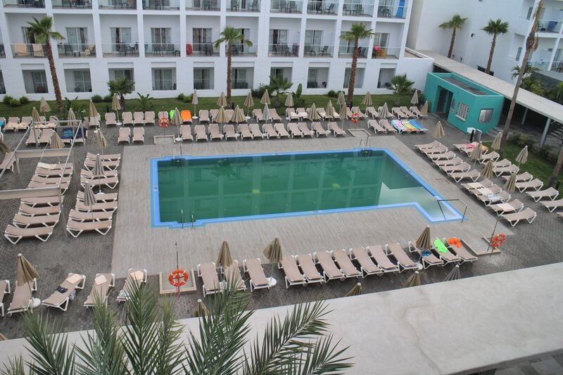 Clubhotel Riu Costa del Sol Cluburlaub Torremolinos, Andalusien Spanien Hotelreview Poolanlage
