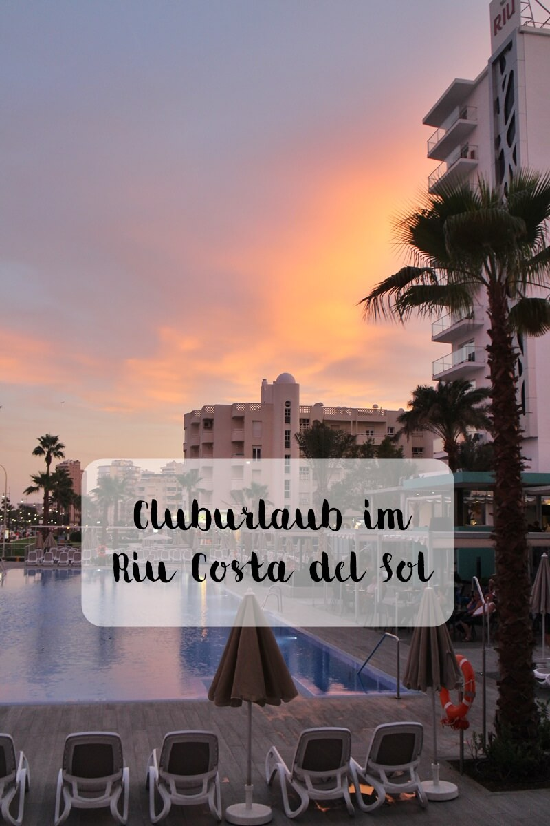 Clubhotel Riu Costa del Sol Cluburlaub Torremolinos, Andalusien Spanien Hotelreview Sonnenuntergang