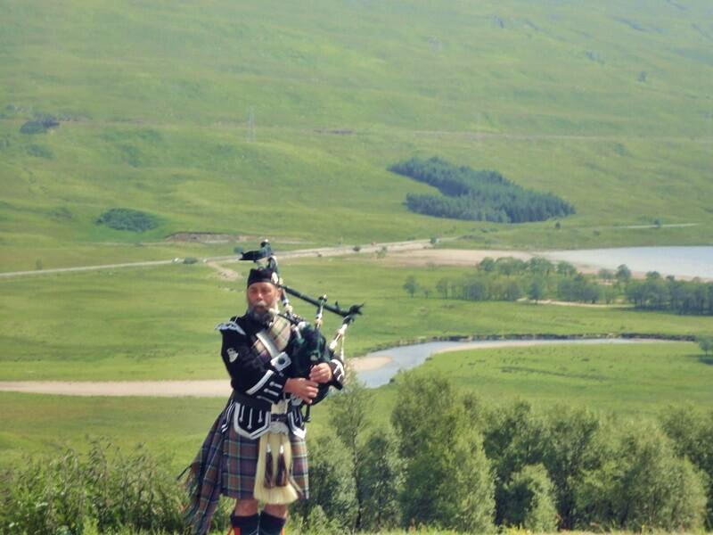 Schottland Inspirationen Reiseblog Genuss-mit-fernweh.de Dudelsack