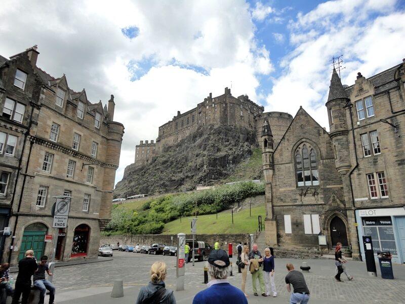 Schottland Inspirationen Reiseblog Genuss-mit-fernweh.de Edinburgh Castle