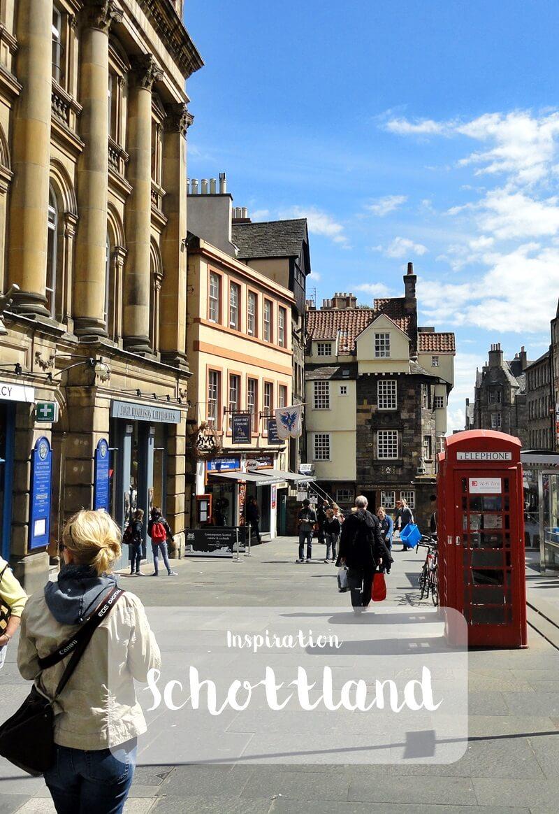 Schottland Inspirationen Reiseblog Genuss-mit-fernweh.de Edinburgh Innenstadt Daniela Reh