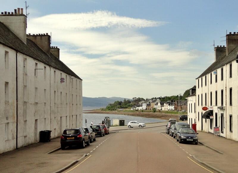 Schottland Inspirationen Reiseblog Genuss-mit-fernweh.de Kleinstadt Inveraray