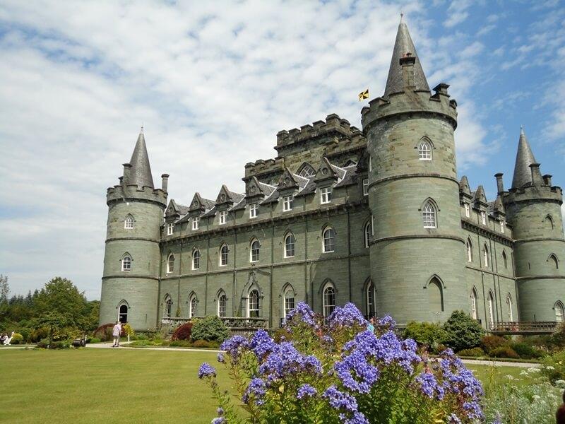 Schottland Inspirationen Reiseblog Genuss-mit-fernweh.de Inveraray Castle