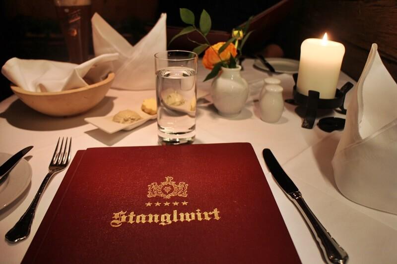 Stanglwirt Going am Wilden Kaiser Tirol Biohotel Restauranttest Genuss-mit-fernweh.de Speisekarte