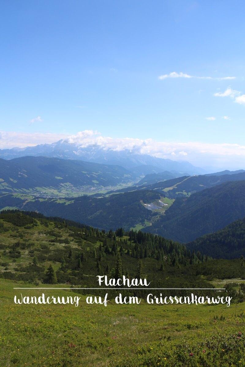 Griessenkarweg Griessenkareck Flachau Reiseblog Genuss-mit-fernweh.de Wanderung