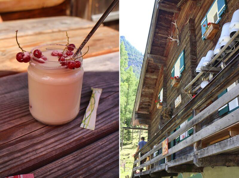 Vordere Marbachalm Prechtlhütte Reiseblog Wanderung Flachau Genuss-mit-fernweh.de Österreich Wanderurlaub frischer Joghurt