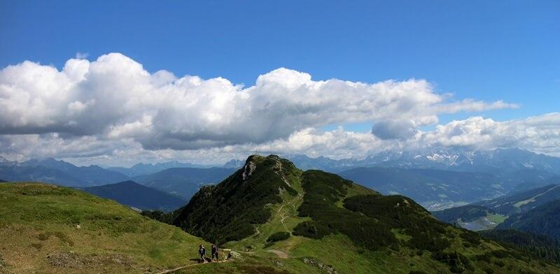 Griessenkareck Wanderung Flachau Wagrain Genuss-mit-fernweh.de Wanderstrecke Urlaub in den Bergen Alpen