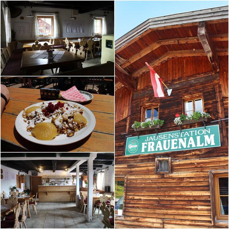 Griessenkareck Wanderung Flachau Wagrain Genuss-mit-fernweh.de Wanderstrecke Urlaub in den Bergen Jausenstation Frauenalm Kaiserschmarrn