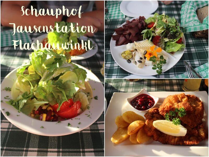 Iss dich glücklich Flachau Schauphof Jausenstation Flachauwinkl