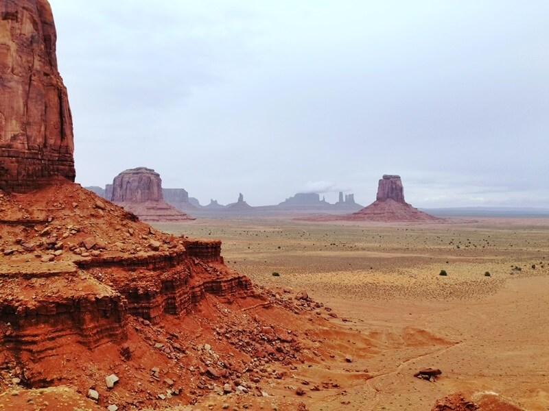 Rundreise Amerika Rocky Mountains bis San Francisco Monument Valley